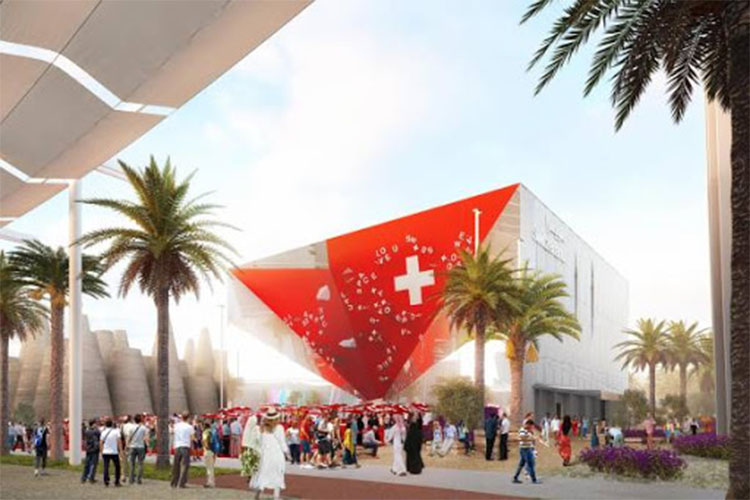 Switzerland pavilion Expo 2020 Dubai